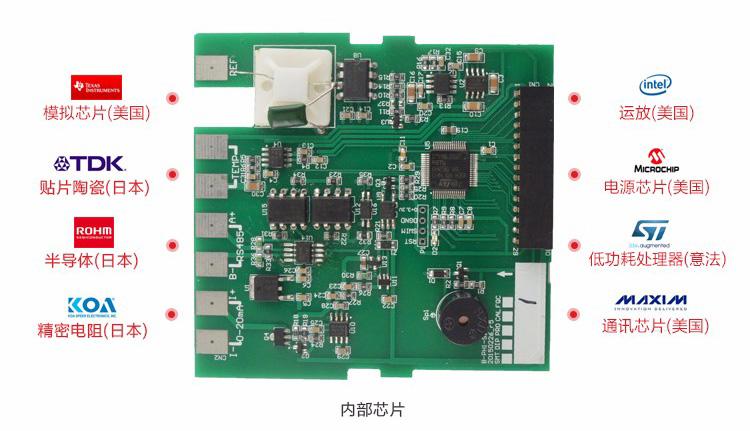 多功能校验仪内部芯片